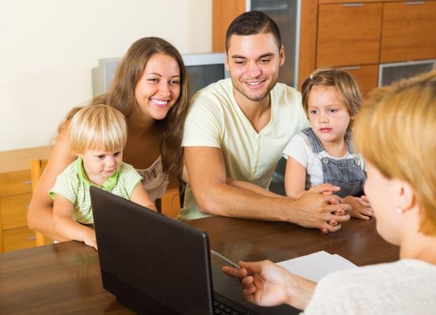 Увеличение объемов поддержки семей