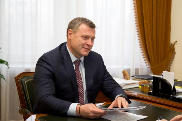Встреча Губернатора с руководителем Управления Росреестра
